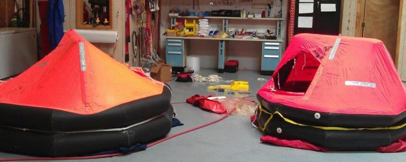 Commercial Life Rafts